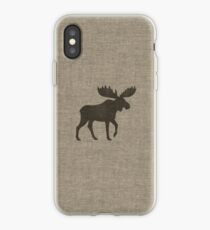 Moose Silhouette(s) iPhone Case