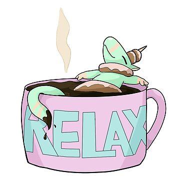 Donuticorn - Relax Coffee by AutumnWyvern
