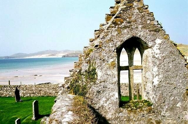 Ruins at Durness by Shannon Byous Ruddy