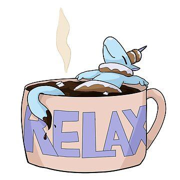 Donuticorn - Relax Hot Chocolate by AutumnWyvern