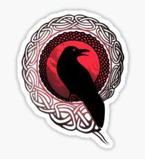 Die Raben von Odin Symbol Hugin und Munin Sticker