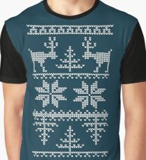 nordic knit pattern Graphic T-Shirt