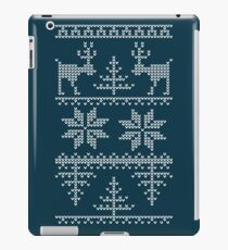 nordic knit pattern iPad Case/Skin