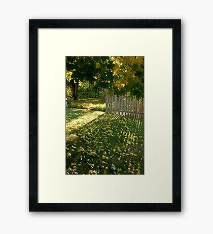 3:56 pm Framed Print
