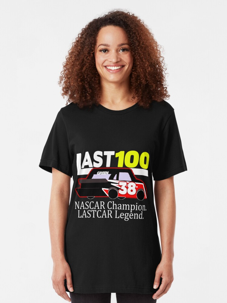 Alternate view of #LAST100 Jeff Green 100th Last-Place Finish Shirt Slim Fit T-Shirt