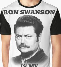 Ron Swanson is my spirit animal Graphic T-Shirt