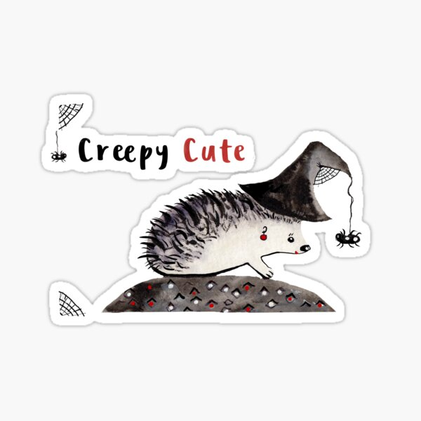 Creepy Cute Sticker