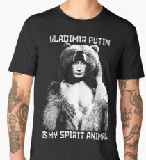 Putin is my spirit animal Men's Premium T-Shirt