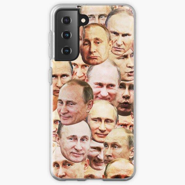 Vladimir Poutine Coque souple Samsung Galaxy