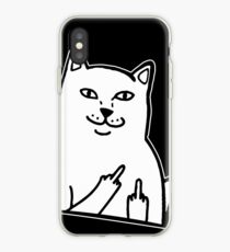 Middle Finger Cat T-shirt / Phone case / Mug and more iPhone Case