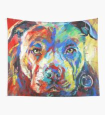 Stafforshire Bull Terrier Wall Tapestry