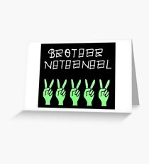 Victory for Brother Nathanael Greeting Card