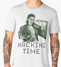 Hacking time Men's Premium T-Shirt