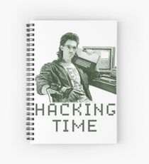 Hacking time Spiral Notebook