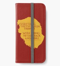 House Lannister: Everything They've Taken iPhone Wallet
