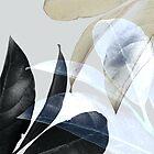 Böhmische, tropische Pflanzenblätter von PrintsProject
