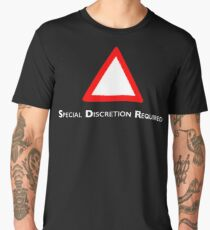 NDVH Channel 4 Red Triangle Men's Premium T-Shirt