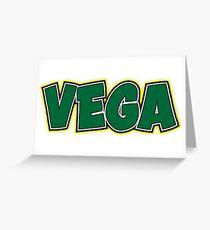 CAMP VEGA Greeting Card