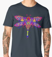 Ornate Dragonfly Art Men's Premium T-Shirt