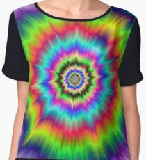 Psychedelic Explosion Women's Chiffon Top