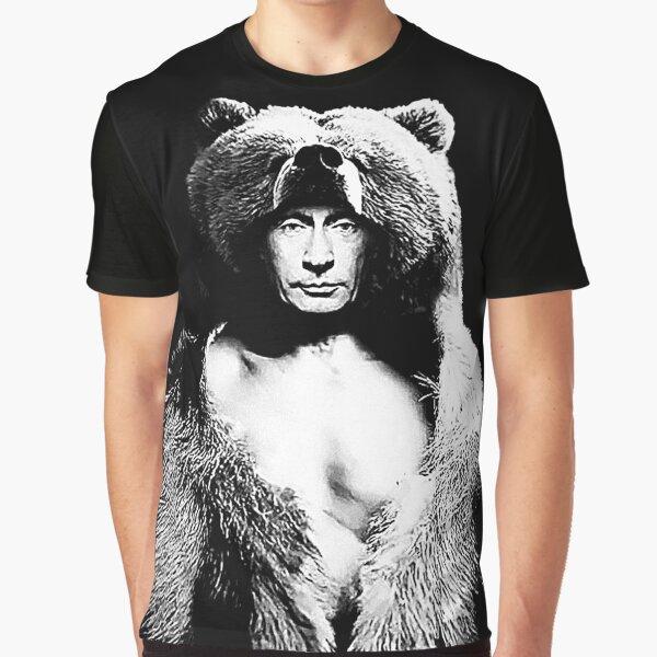 Tarnung Putin Grafik T-Shirt