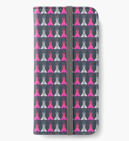 Native American Tipi iPhone Wallet