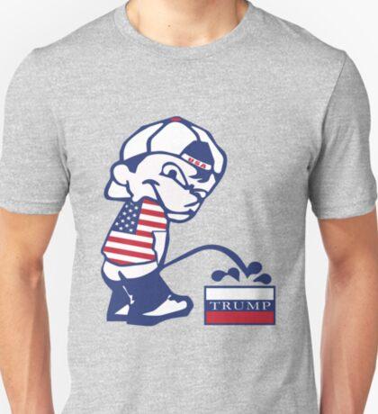 Pee on Russian Trump T-Shirt