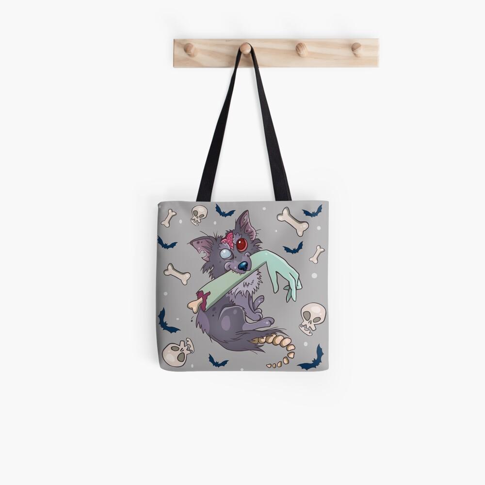 Rufus zombie dog Tote Bag