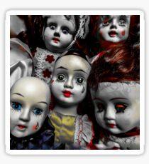 Creepy Dolls Sticker
