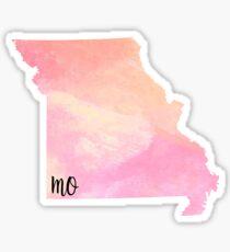 Missouri watercolor Sticker