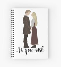 Princess Bride - As You Wish Spiral Notebook