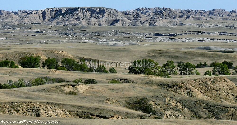 #592  View Of Badlands National Park by MyInnereyeMike
