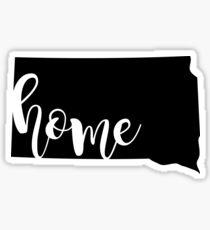 South Dakota home Sticker