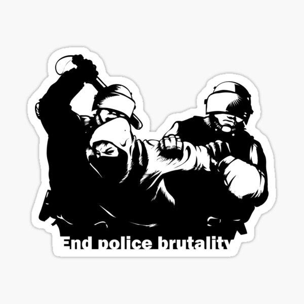 End Police Brutality Sticker