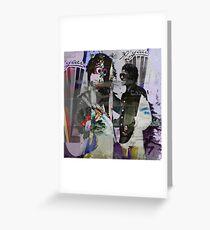 Michael Jackson and Goofy Greeting Card