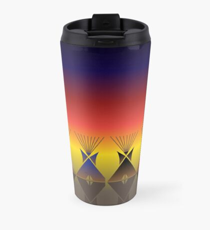 Night Tipi Travel Mug