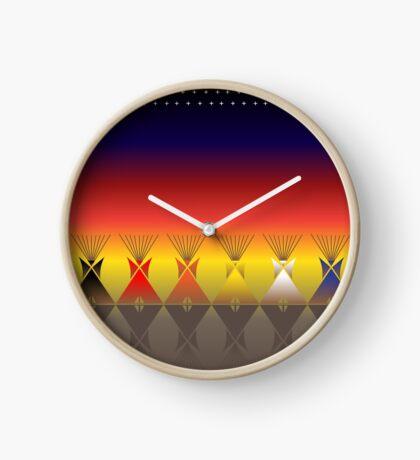 Night Tipi Clock