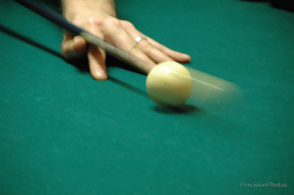 Eight ball corner pocket by PrecisionPhotos