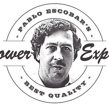 Pablo Escobar logo von pornflakes