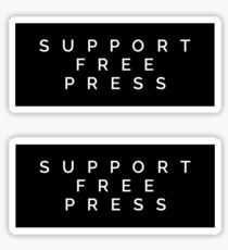 Support Free Press Sticker