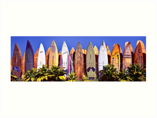 Where Old Surfboards Go Art Prints By Randy Jay Braun Redbubble