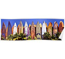 Where Old Surfboards Go.... Poster
