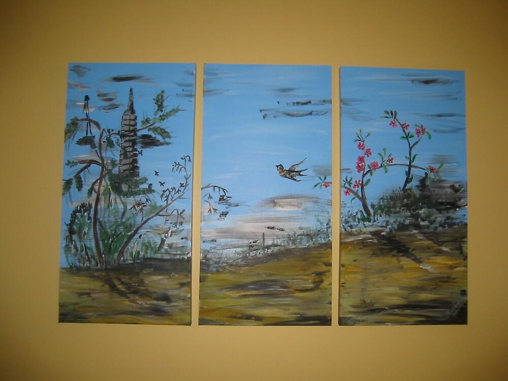 oriental scene by Hans de Lange