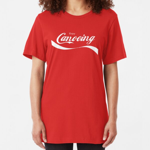 Enjoy Canoeing Slim Fit T-Shirt