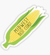 Midwest best coast Sticker