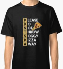 OSI Model - Please Do Not Throw Soggy Pizza Away [Hacker Wear] Classic T-Shirt