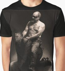Putin riding Obama Graphic T-Shirt