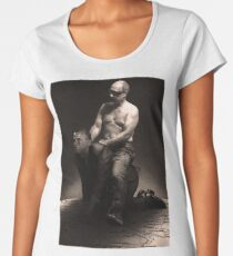Putin riding Obama Women's Premium T-Shirt