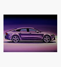 Audi RS7 2013 Painting Photographic Print