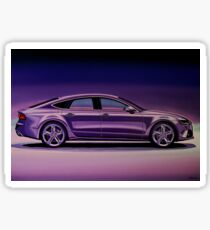 Audi RS7 2013 Painting Sticker
